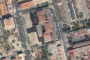 Vista aérea del Centro actual